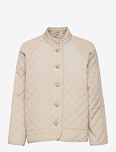Hisar jacket - quilted jackets - pumice stone