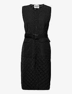 Hisar vest - puffer vests - black