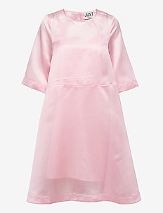 Cholet dress - midi dresses - pink mist