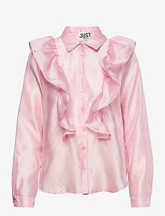 Cholet shirt - long-sleeved shirts - pink mist