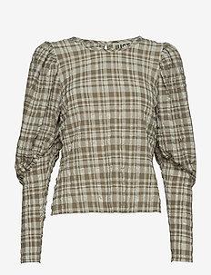 Hamilton blouse - langærmede bluser - hamilton check