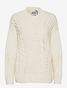 Via knit - trøjer - off white