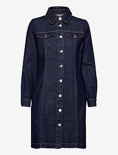 Mist dress 0103 - summer dresses - blue rinse