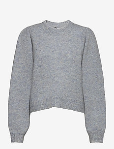 Girona knit - jumpers - blue pumice mix