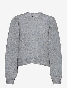 Girona knit - tröjor - blue pumice mix