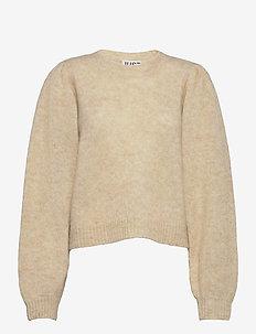 Girona knit - jumpers - pumice stone
