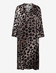 Laguna dress - midi dresses - leopard