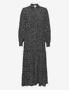 Colombo Maxi Dress - hverdagskjoler - noise aop