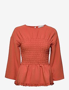 Stay Blouse - long sleeved blouses - ginger spice