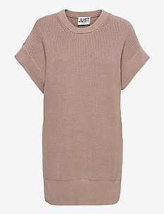 Norm vest - t-shirt & tops - taupe