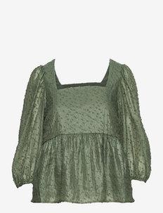 Lara blouse - long sleeved blouses - sea spray