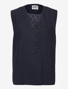 Planet vest - knitted vests - maritime