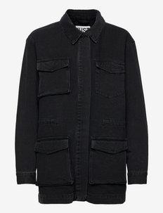 Power jacket 0108 - denim jackets - grey