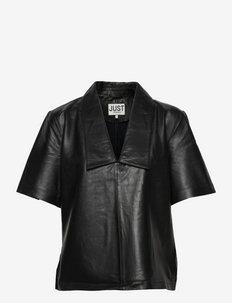 Laurene blouse - short-sleeved blouses - black