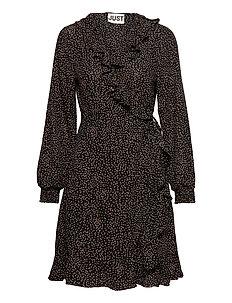 Xena Dress (Black) (1079.40 kr) Just Female |