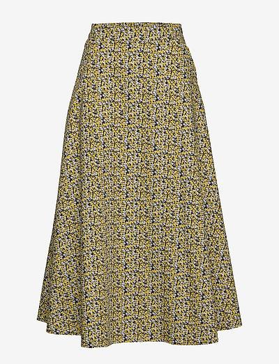 Dove maxi skirt - midi nederdele - multi flower aop