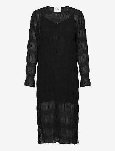 Kifi dress - midi dresses - black