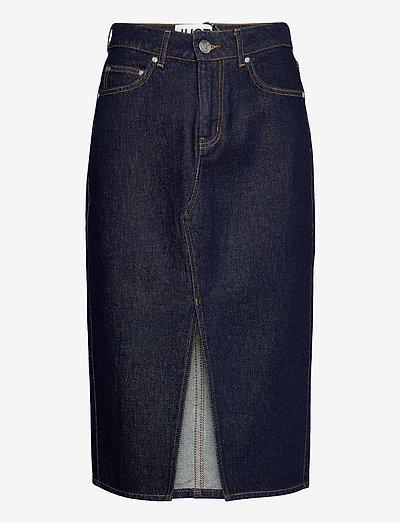 Pacific skirt 0103 - midi nederdele - blue rinse