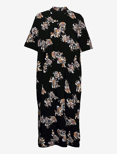 Astra dress - summer dresses - black paint art
