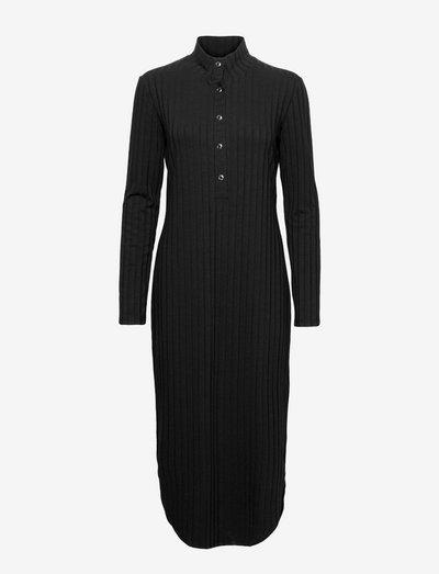 Across dress - summer dresses - black