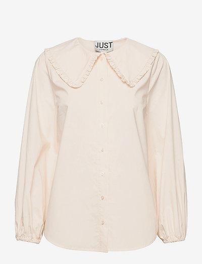 Eve shirt - denim shirts - buttercream