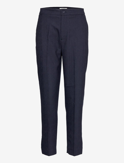 Planet trousers - straight leg trousers - maritime