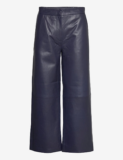 Roxy leather trousers - leather trousers - maritime