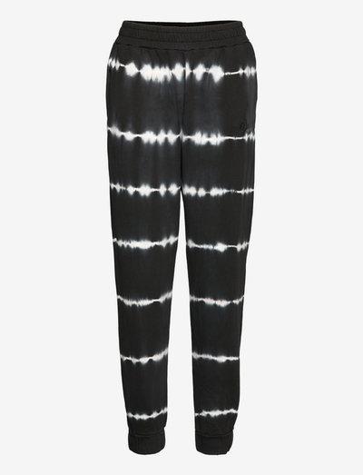 Drake sweat pants tiedye - casual trousers - black td