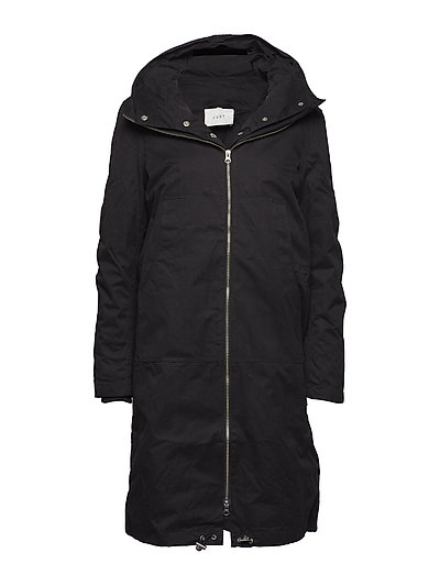 Steal coat - BLACK