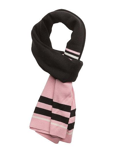 Trix scarf - BLACK ROSE STRIPE