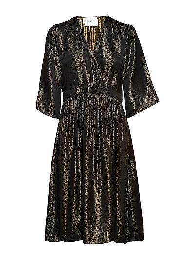 Audrey dress - GOLD LUREX