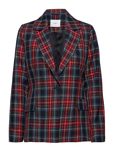 Sinclair blazer - RED CHECK