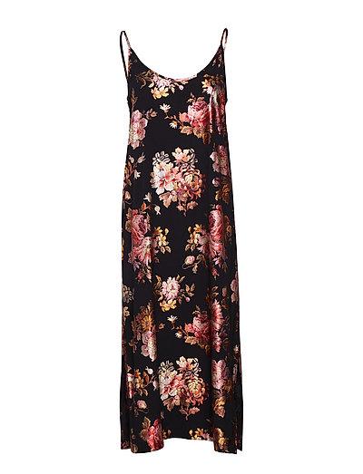Aliya strap dress - ELECTRIC FLOWER