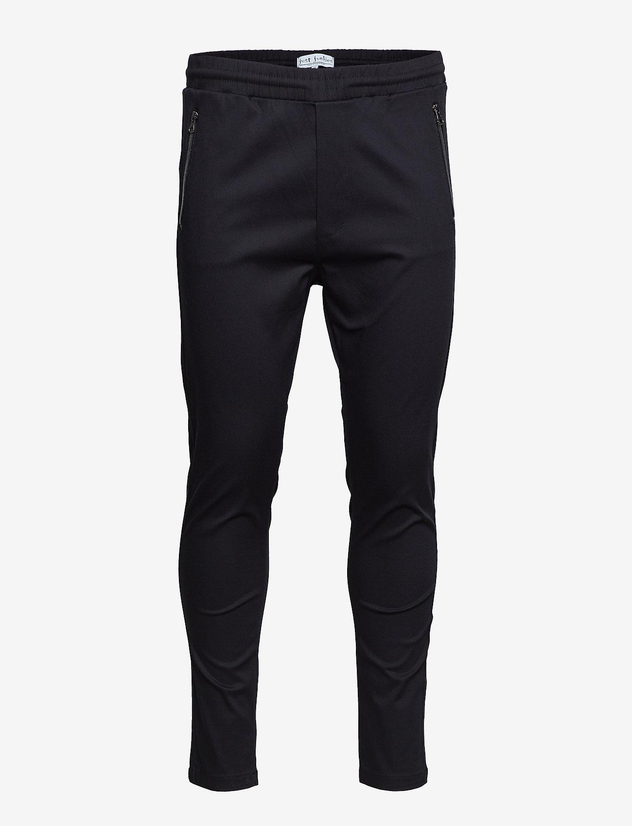 Just Junkies - Flex 2.0 - spodnie na co dzień - black - 0