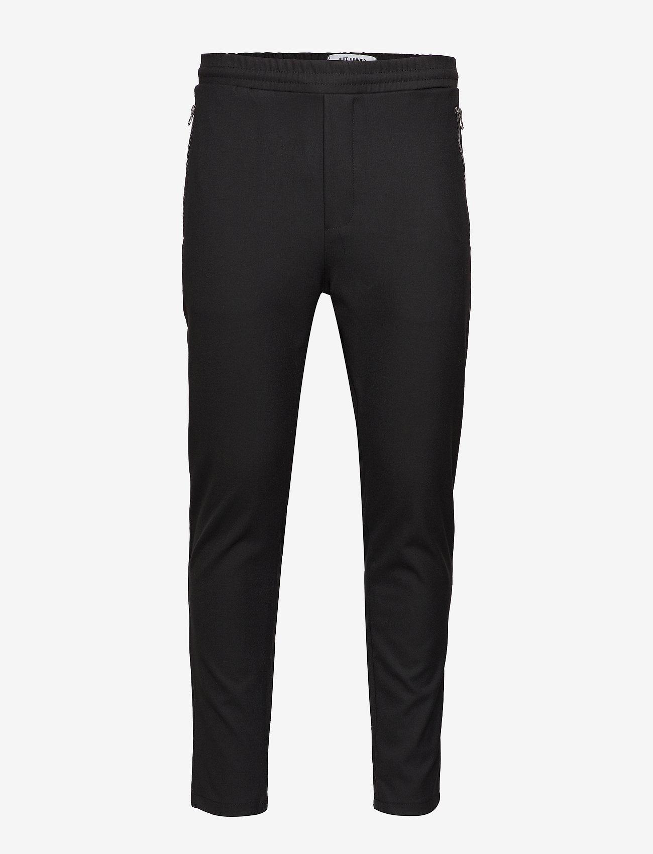 Just Junkies - Flex Bistretch 2.0 - spodnie na co dzień - black - 1