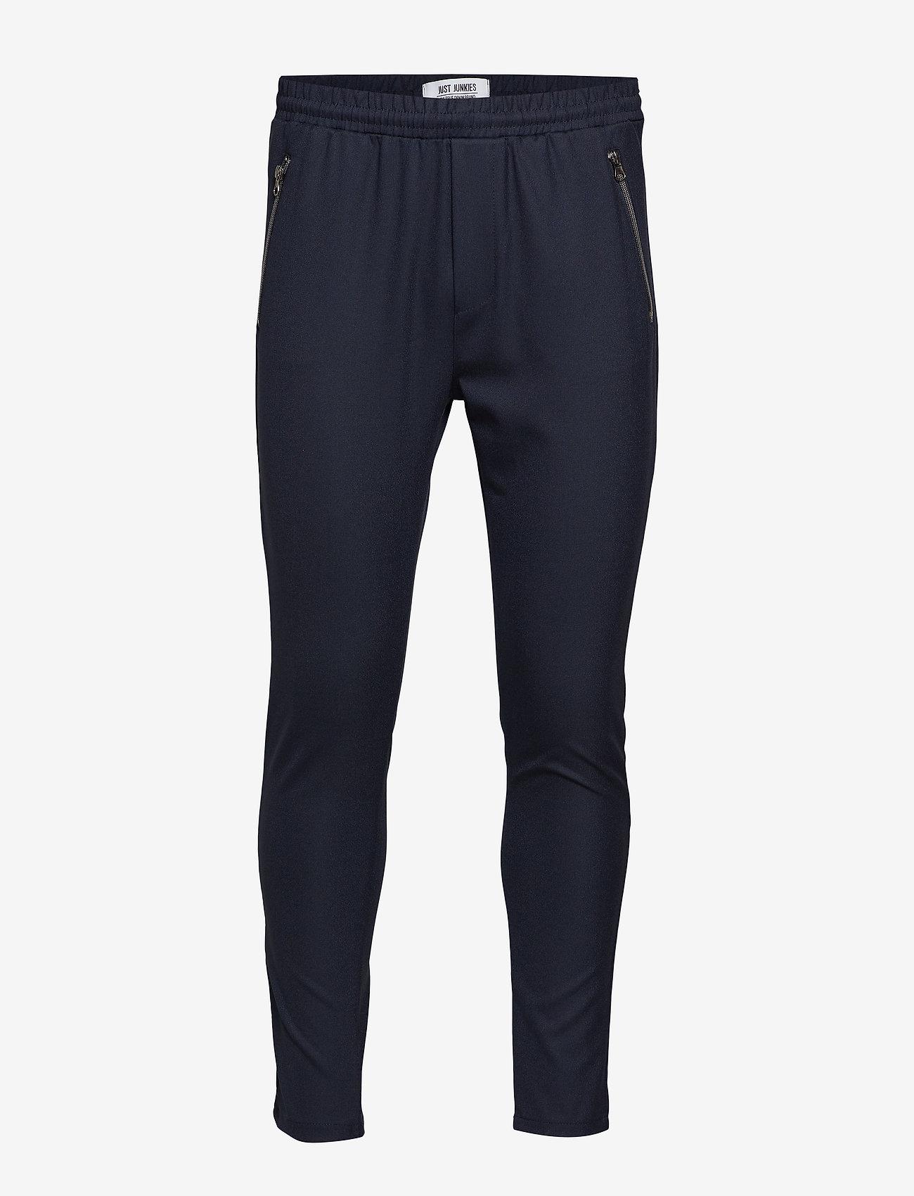 Just Junkies - Flex Bistretch 2.0 - spodnie na co dzień - navy - 1