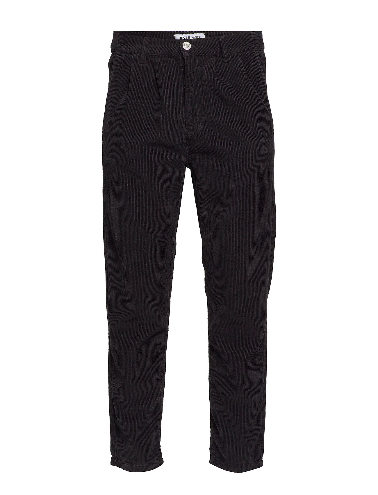 Just Junkies Box corduroy - BLACK