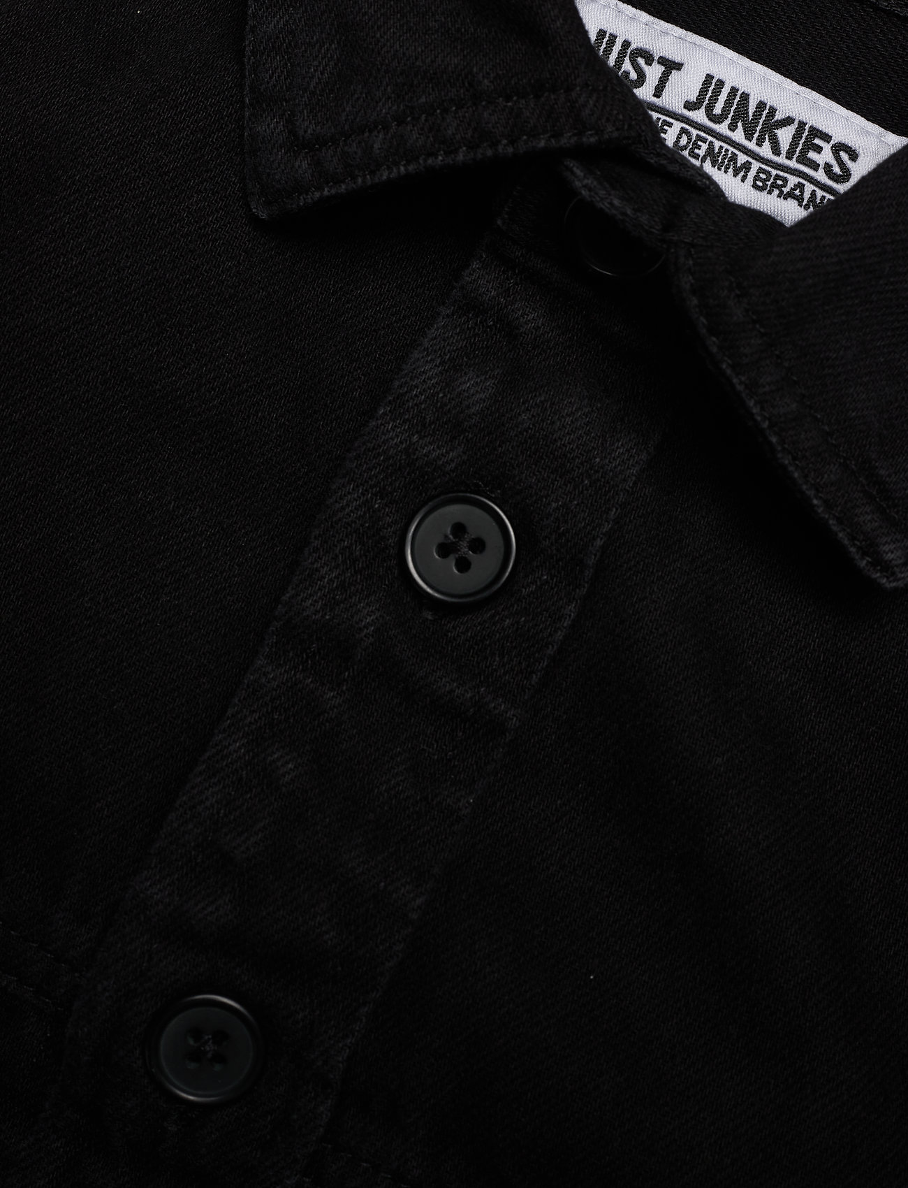 Just Junkies Sulfi - Skjorter BLACK - Menn Klær
