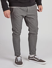 Just Junkies - Flex Bistretch 2.0 - spodnie na co dzień - mid grey mell - 3