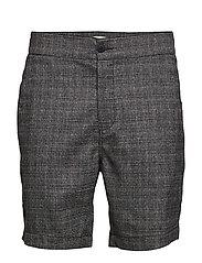 Press Check Shorts - GREY