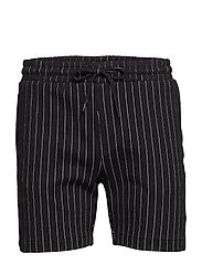Main Tux Stripe Shorts - BLACK