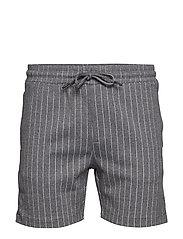 Main Tux Stripe Shorts - GREY
