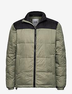 Spac jacket - OLIVE/BLACK