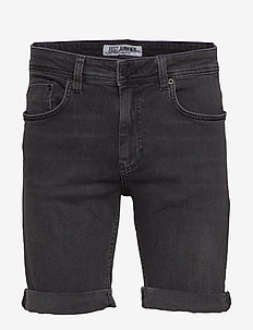 Mike Shorts Pass Black - jeansowe szorty - pass black