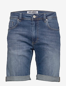 Mike Shorts Deepless blue - jeansowe szorty - deepless blue