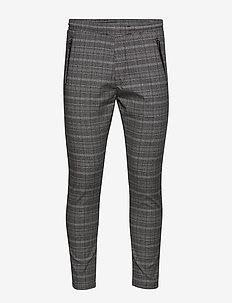 Flex 2.0 Check grey - casual trousers - check grey