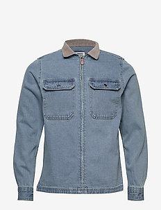 Anno - jeansjacken - light blue