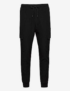 Oliver Pants - casual byxor - black/black