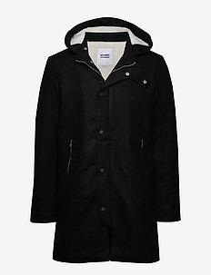 Tor Wool - manteaux de laine - black