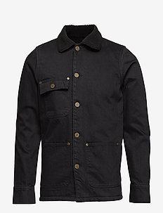 Jack Fur Black - spijkerjassen - black